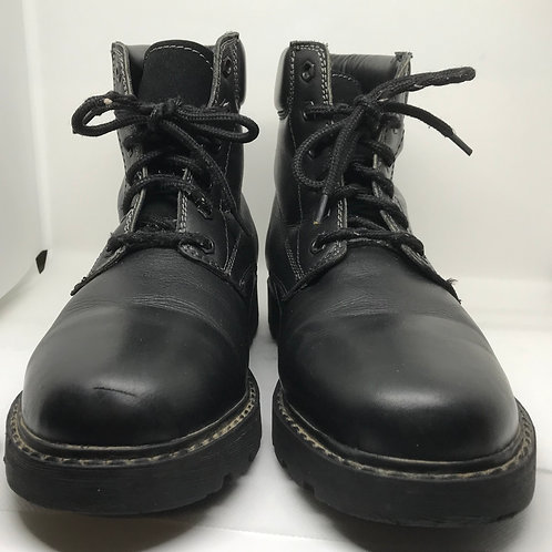 Chaussures montante cuir