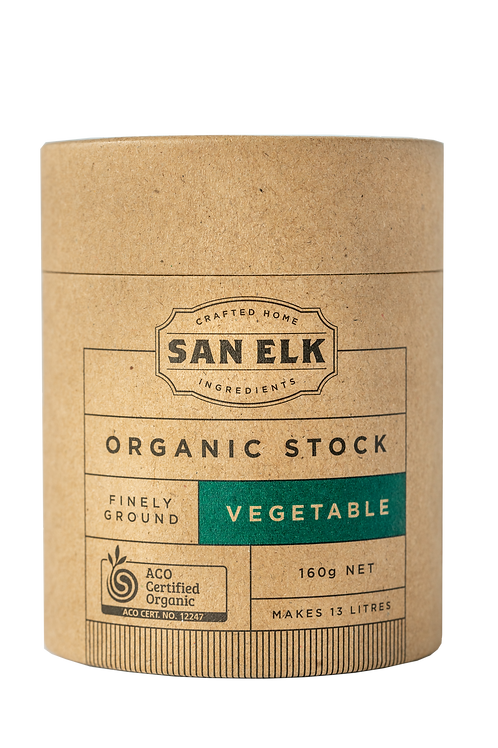 SAN ELK ORGANIC ARTISAN VEGETABLE STOCK