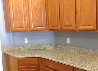 """Latest Kitchen Project - """"Refreshed Cabinets"""""""