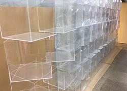 50 кубов из оргстекла