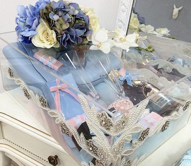 Коробка для декорирования свадьбы