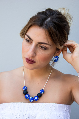 Greek Islands collection Blue Sea set on
