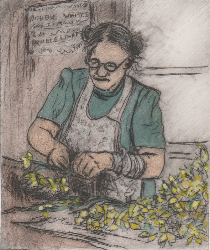 Mrs Jolly Bunching Daffs...