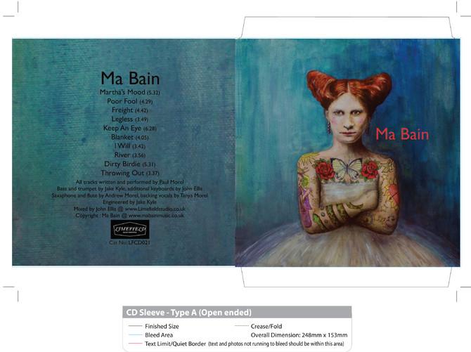 Ma Bain album cover...