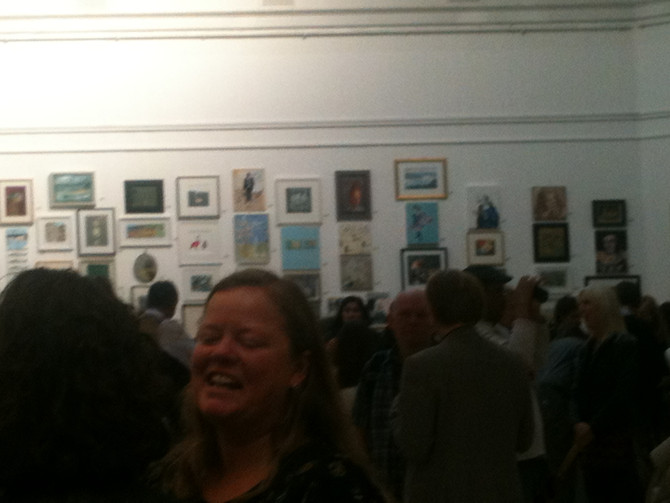 Private View at the RWA...