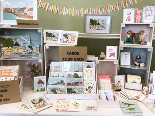 Ella Elizabeth At The Norwich Makers Market At The Assembly House 2019