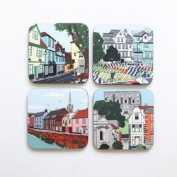 Norwich Coaster Set