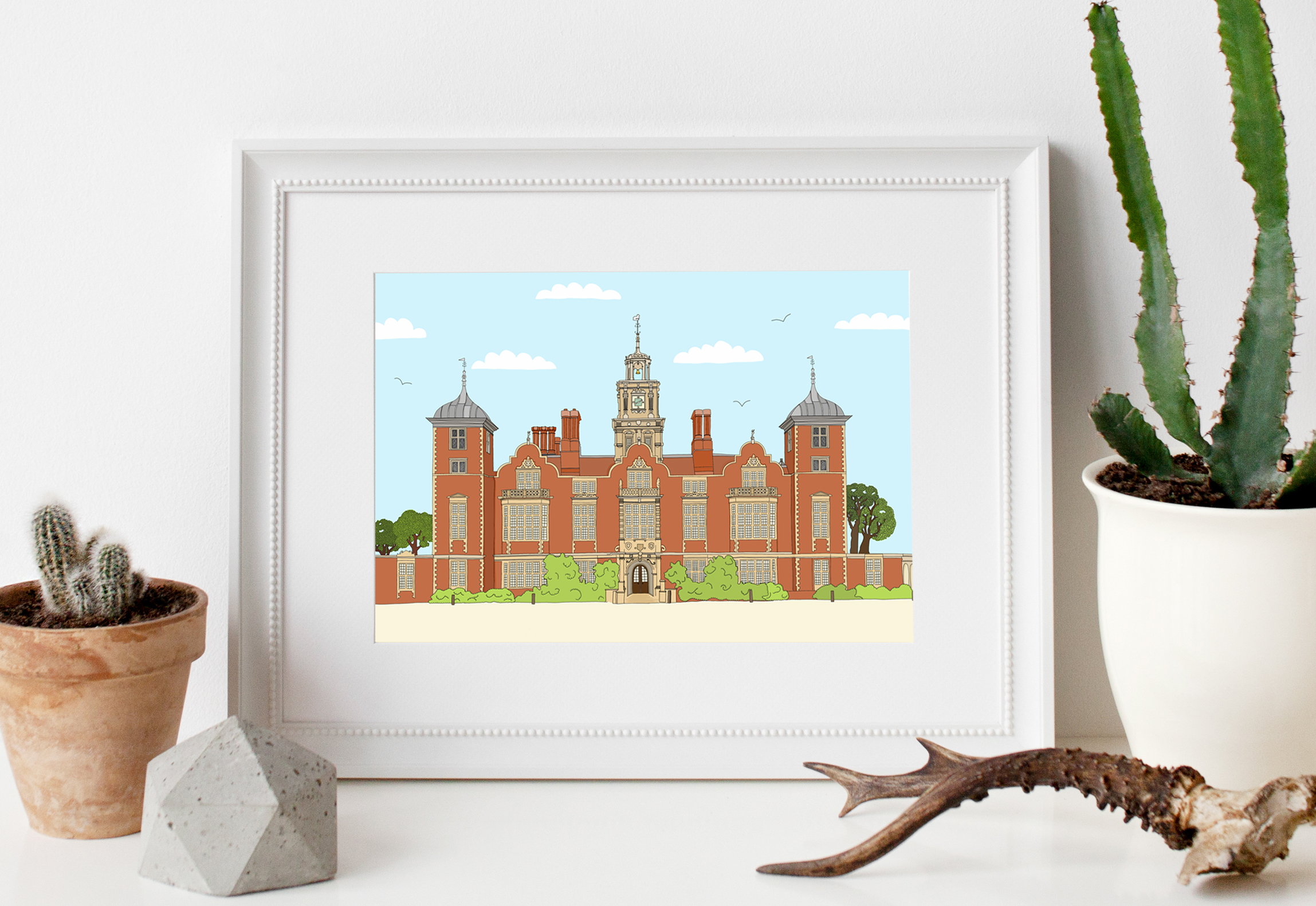 blickling in frame zoom