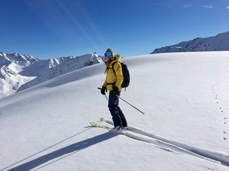 Ski de randonnée crans montana