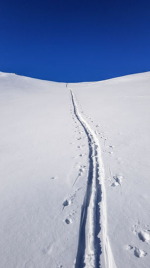 Snowboard randonnée Verbier