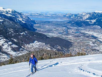 cours privé de ski nendaz
