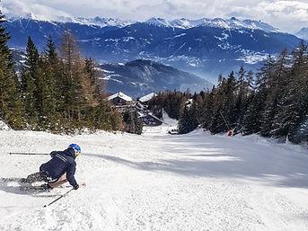 Cours privé de ski à Anzère