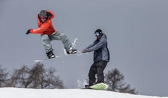 cours de snowboard thyon
