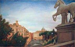"Capitoline Hill  21"" x 33"" 1996"