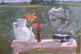 """Aphrodite In Bridgehampton 2*  36"""" x 44"""" 1976"""