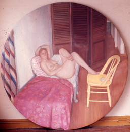 "Grand Street Odalisque *  80"" 1970"