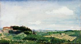 "Tuscan Panorama 3* 18"" x 36"" 1996"