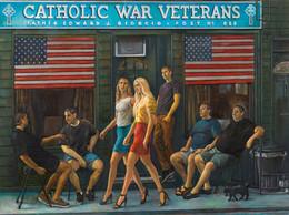 "Catholic War Veterans 38 1/4"" x 51 1/2"" 2015"