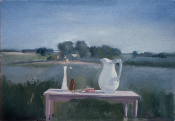"Bridgehampton Still Life 2*  6"" x 10"" 1976"