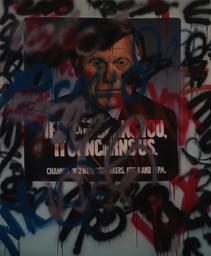 """Wall (Jim Jensen)  84"""" x 68"""" 1987"""