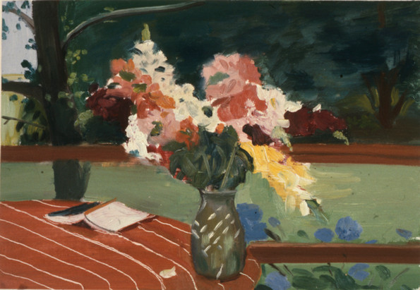 "Bridgehampton Flowers 3  20"" x 25"" 1977"