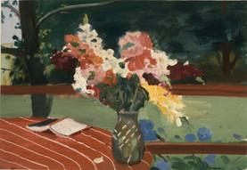 "Bridgehampton Flowers 3  20"" x 25"" 1977"