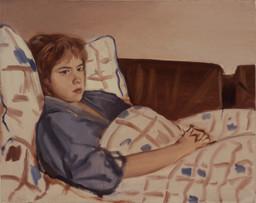 "Chloe At 101º  16"" x 20"" 1986"