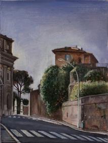 """Roman Street 2*  12"""" x 6"""" 1996"""