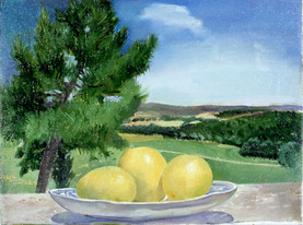 """Tuscan Lemons*  12"""" x 16"""" 1992"""
