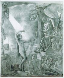 "Salome Study  108"" x 84"" 2010"