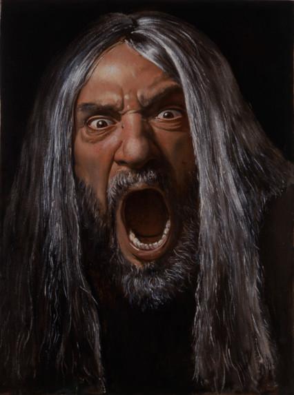 "F. Murray Abraham as King Lear  24.5"" x 19"" 1995"