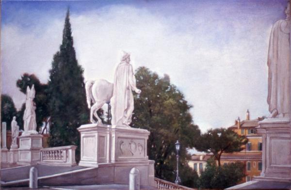 "Capitoline 2  11"" x 14"" 1996"