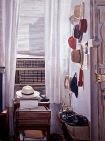 "Hats  33.5"" x 25"" 2001"