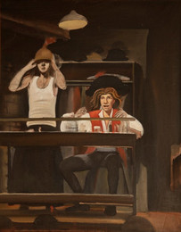 """F. Murray Abraham /Life In The Theatre 2*  36"""" x 20"""" 1992"""