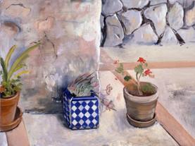 "Sicilian Flowers 3*  6"" x 8"" 1992"