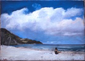 "St Croix Beach 6"" x 9"" 1995"