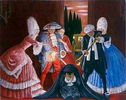 """Don Giovanni  68"""" x 44"""" 2005"""