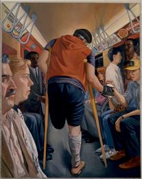 "Incident - Left Panel  84"" x 66"" 1988"