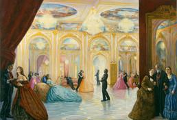 """La Traviata  88"""" x 132"""" 2004"""
