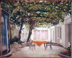 "Ischia Hotel 4.5"" x 11.5"" 1996"