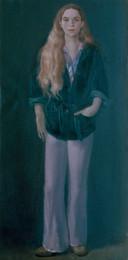 "Judy  48"" x 24"" 1972"