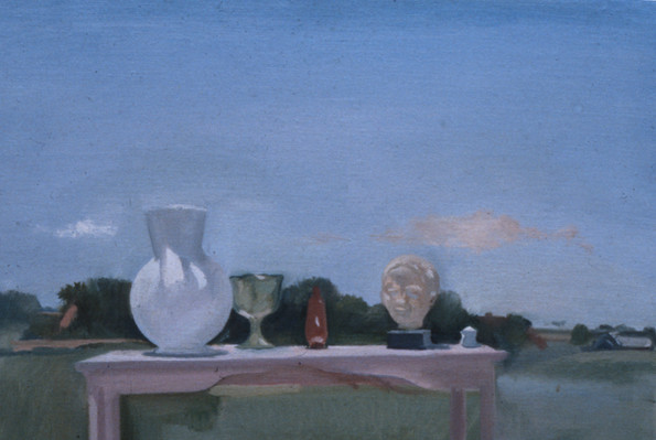 "Bridgehampton Still Life*  6"" x 10"" 1978"