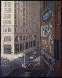 """Ninth Street 2  58"""" x 46"""" 1998-1999"""