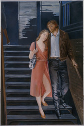 "Lovers  36"" x 24"" 1988"