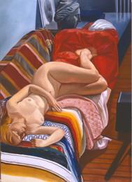 """Sleeping Girl  72"""" x 48"""""""