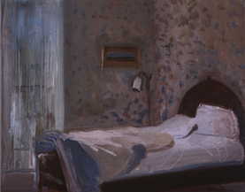 """French Bedroom*  8"""" x 10"""" 1995"""