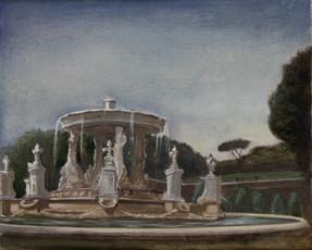 """Rome Fountain 1* 8"""" x 10"""" 1996"""