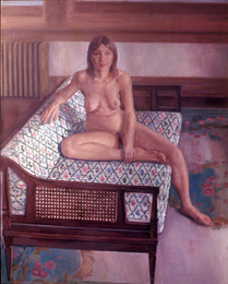 "Mary Jane *  60"" x 50"" 1970"
