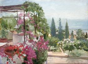 """Sicilian View* 8"""" x 10"""" 1992"""