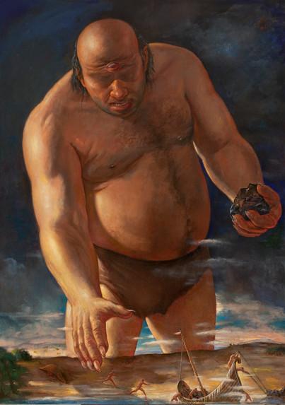 "Polyphemus  84"" x 60"" 2007"